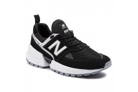 New Balance Sneakers MS574NSE Noir Rouge vente