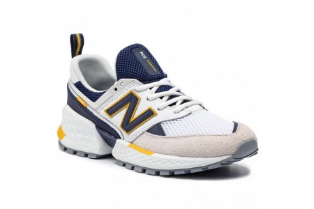 New Balance Sneakers MS574EDD Blanc vente