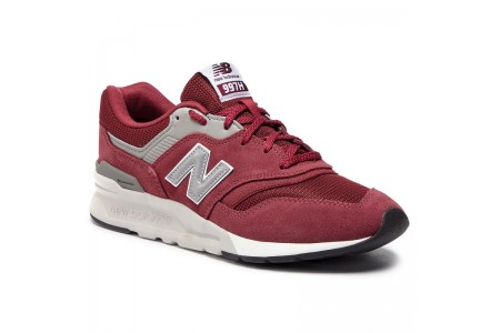 New Balance Sneakers CM997HCD Bordeaux vente