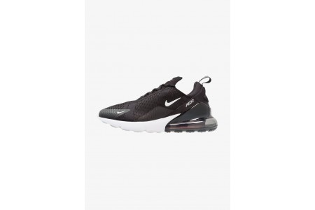 Nike AIR MAX 270 - Baskets basses black/anthracite/white/solar red pas cher