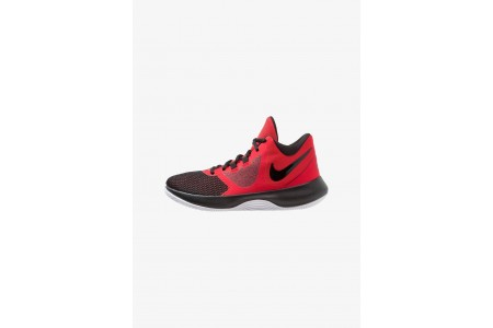 Nike AIR PRECISION II - Chaussures de basket university red/black/white pas cher