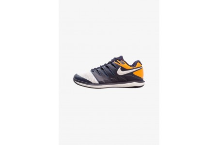 Nike AIR ZOOM VAPOR X HC - Baskets tout terrain blackened blue/phantom/orange peel pas cher