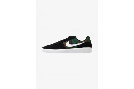 Nike TEAM CLASSIC - Baskets basses black/white pas cher
