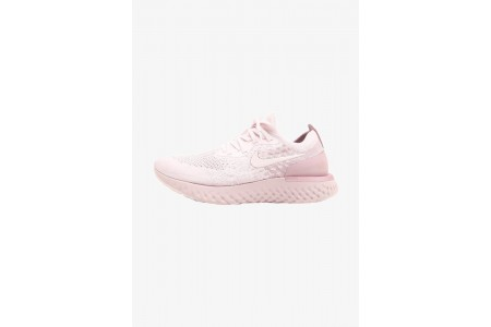 Nike EPIC REACT FLYKNIT - Chaussures de running neutres pearl pink/barely rose/arctic pink pas cher