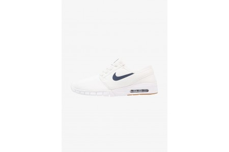 Nike STEFAN JANOSKI MAX - Baskets basses summit white/thunder blue/medium brown/white pas cher