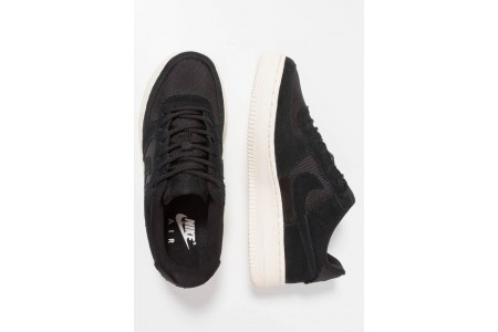 Nike AIR FORCE 1 - Baskets basses black/pale ivory pas cher