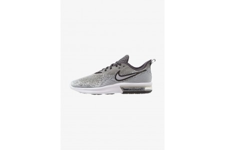 Black Friday 2020 | Nike AIR MAX SEQUENT 4 - Chaussures de running neutres wolf grey/anthracite/white/black pas cher