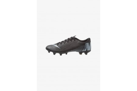 Nike MERCURIAL VAPOR 12 ACADEMY MG - Chaussures de foot à crampons black/anthracite/light crimson pas cher