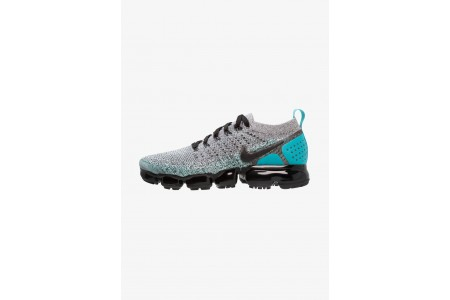 Black Friday 2020 | Nike AIR VAPORMAX FLYKNIT - Chaussures de running neutres white/black/dusty cactus pas cher
