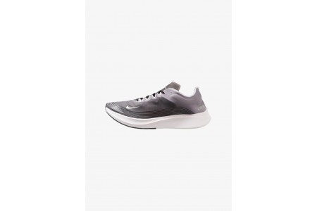Nike ZOOM FLY SP - Chaussures de running compétition black/white pas cher