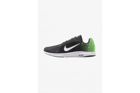 Nike DOWNSHIFTER 8 - Chaussures de running neutres anthracite/white/lime blast/black pas cher