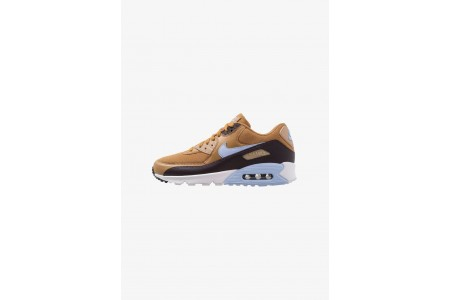 Nike AIR MAX 90 ESSENTIAL - Baskets basses muted bronze/royal tint/burgundy ash/desert pas cher