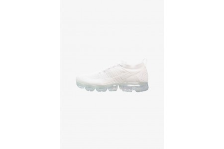 Black Friday 2019 : Nike AIR VAPORMAX FLYKNIT - Chaussures de running neutres white/pure platinum pas cher