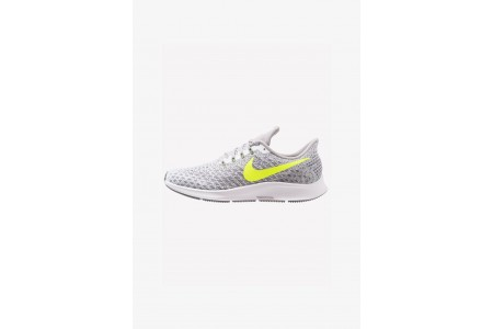 Black Friday 2019 : Nike AIR ZOOM PEGASUS 35 - Chaussures de running neutres white/volt/gunsmoke/atmosphere grey pas cher