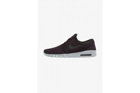 Black Friday 2020 | Nike STEFAN JANOSKI MAX - Baskets basses villain red/black/wolf grey pas cher