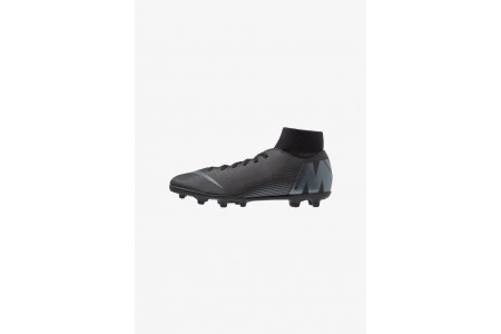 Nike MERCURIAL 6 CLUB MG - Chaussures de foot à crampons black/anthracite/light crimson pas cher