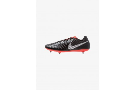 Black Friday 2020 | Nike TIEMPO LEGEND 7 PRO SG - Chaussures de foot à lamelles black/metallic silver/light crimson pas cher