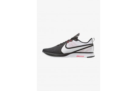 Nike ZOOM STRIKE - Chaussures de running neutres black/white/red orbit/anthracite pas cher