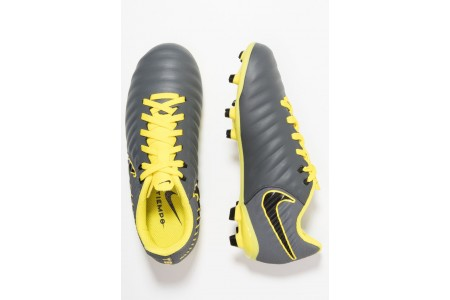 Nike TIEMPO LEGEND 7 ACADEMY MG - Chaussures de foot à crampons dark grey/black/opti yellow pas cher