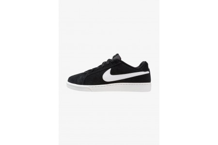 Black Friday 2020 | Nike COURT ROYALE SUEDE - Baskets basses black/white pas cher