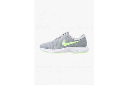 Black Friday 2019 : Nike REVOLUTION 4 EU - Chaussures de running neutres wolf grey/lime blast/cool grey/white pas cher