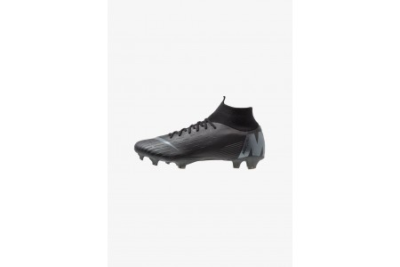 Nike MERCURIAL 6 PRO FG - Chaussures de foot à crampons black/anthracite/light crimson pas cher