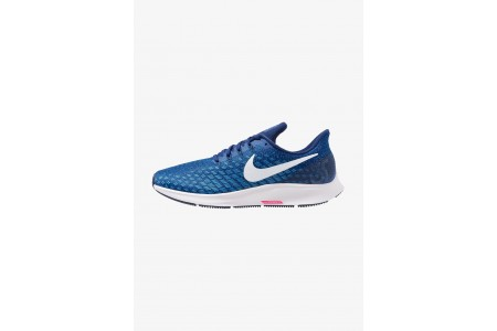 Nike AIR ZOOM PEGASUS 35 - Chaussures de running neutres indigo force/white/photo blue/blue void/red orbit pas cher