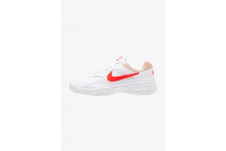 Black Friday 2020 | Nike COURT LITE - Baskets tout terrain white/bright crimson/bio beige pas cher