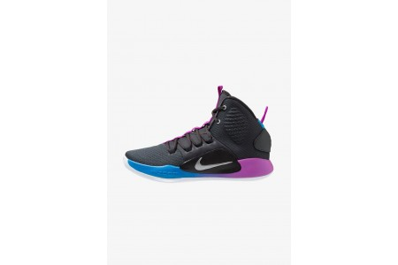 Nike HYPERDUNK X - Chaussures de basket cool grey/team red pas cher