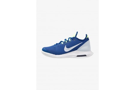 Nike AIR MAX WILDCARD HC - Baskets tout terrain indigo force/half blue/white/volt glow pas cher