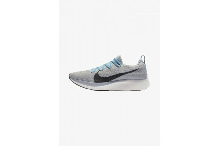 Nike ZOOM FLY FK - Chaussures de running neutres grey/turquoise/black pas cher