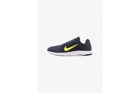 Nike DOWNSHIFTER 8 - Chaussures de running neutres light carbon/volt/obsidian/black/white pas cher
