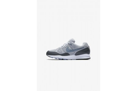 Nike AIR SPAN II - Baskets basses wolf grey/dark grey/anthracite/ashen slate pas cher