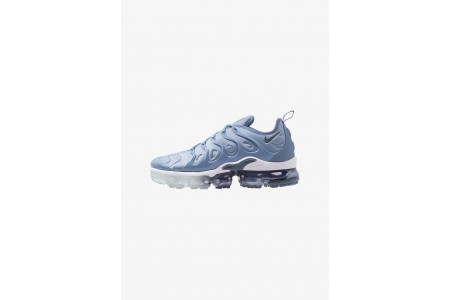 Nike AIR VAPORMAX PLUS - Baskets basses work blue/cool grey/diffused blue/white pas cher