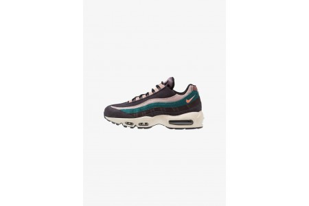 Black Friday 2020 | Nike AIR MAX 95 PRM - Baskets basses oil grey/bright mango/thunder grey/rainforest/diffused taupe/smokey mauve pas cher