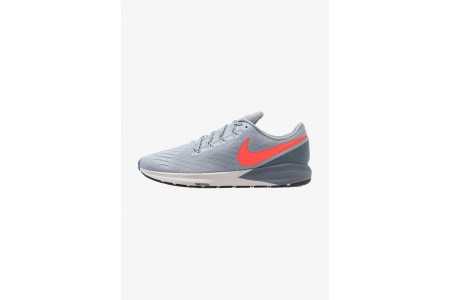 Nike AIR ZOOM STRUCTURE  - Chaussures de running stables obsidian mist/bright crimson/armory blue pas cher
