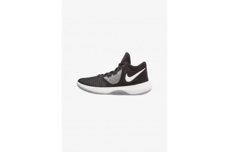 Nike AIR PRECISION II - Chaussures de basket black/white pas cher
