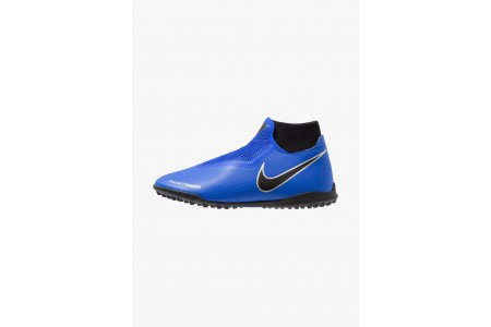 Black Friday 2020 | Nike PHANTOM OBRAX 3 ACADEMY DF TF - Chaussures de foot multicrampons racer blue/black/metallic silver/volt pas cher