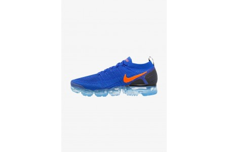 Nike AIR VAPORMAX FLYKNIT - Chaussures de running neutres racer blue/total crimson/black pas cher