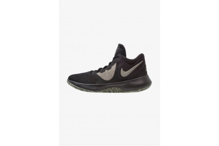 Nike AIR PRECISION II - Chaussures de basket black/dark stucco/cargo khaki/sequoia/beach pas cher