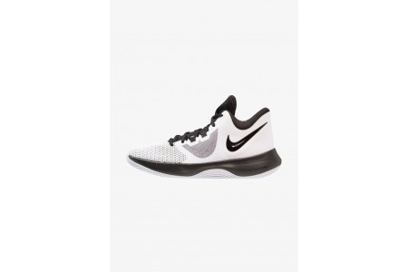 Nike AIR PRECISION II - Chaussures de basket white/black pas cher