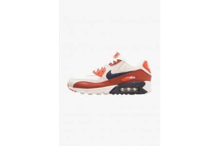 Nike AIR MAX 90 ESSENTIAL - Baskets basses mars stone/obsidian/vintage coral pas cher