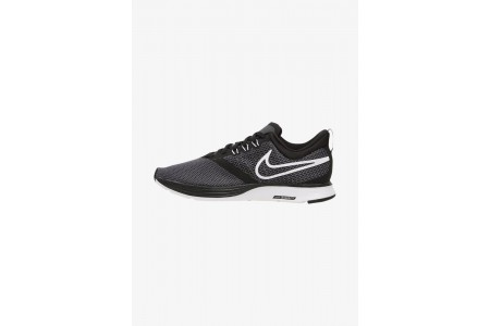 Nike ZOOM STRIKE - Chaussures de running neutres black/dark grey/anthracite/white pas cher