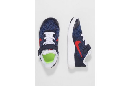 Nike FREE 2 - Chaussures de course neutres obsidian/university red/racer blue/photo blue pas cher