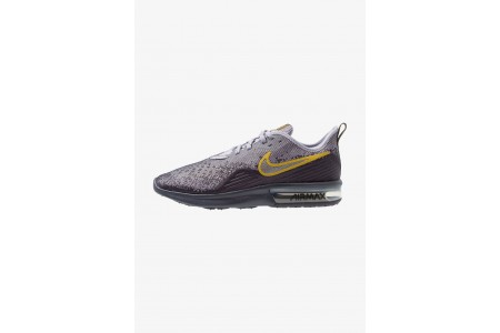 Nike AIR MAX SEQUENT 4 - Chaussures de running neutres gridiron/metallic pewter/provence purple/white/peat moss pas cher