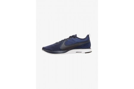 Nike ZOOM STRIKE - Chaussures de running neutres obsidian blue/blue void/thunder grey/white pas cher