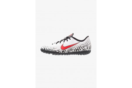 Nike MERCURIAL VAPORX 12 CLUB NJR TF - Chaussures de foot multicrampons white/challenge red/black pas cher