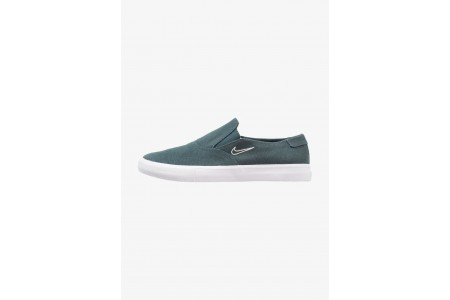 Nike PORTMORE - Mocassins deep jungle/barely green pas cher