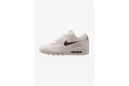 Nike AIR MAX 90 ESSENTIAL - Baskets basses light bone/thunder grey pas cher