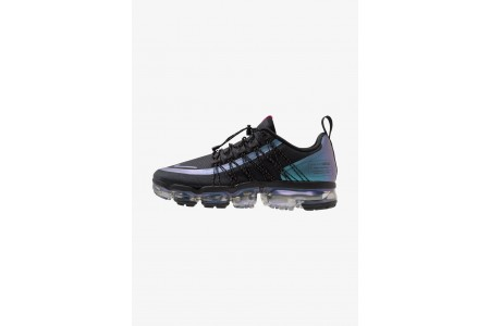 Nike AIR VAPORMAX RUN UTILITY - Chaussures de running neutres black/laser fuchsia/anthracite pas cher